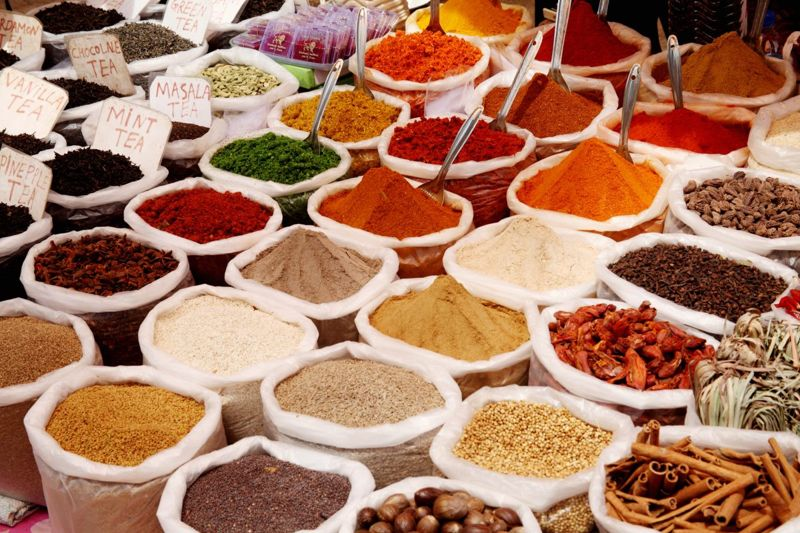 Britain enjoyed the spice trade