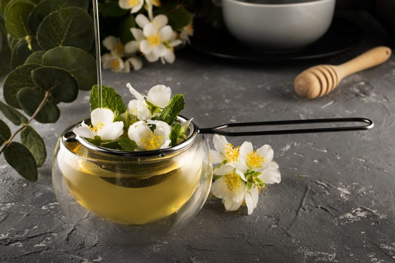 fragrance health benefits jasmine tea