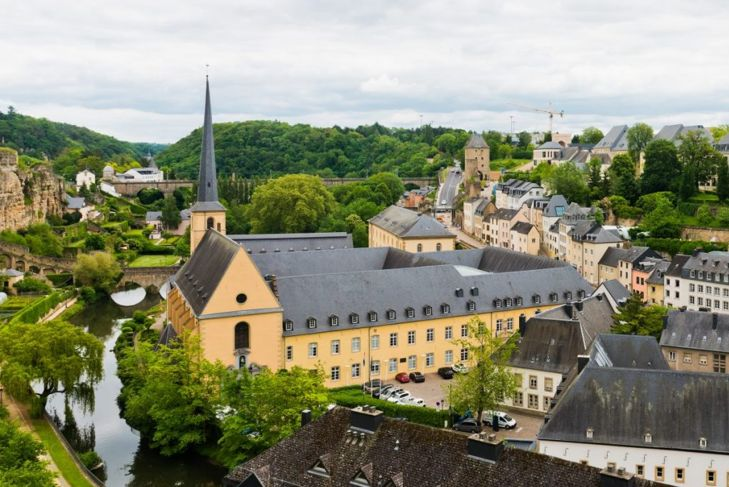 Luxembourg richest countries