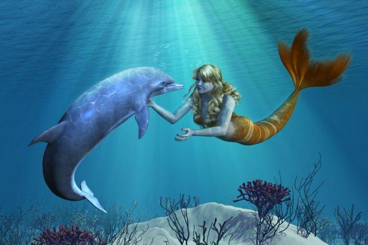 mermaids in history