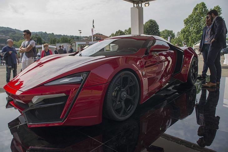 W Motors Lykan Hypersport automobiles