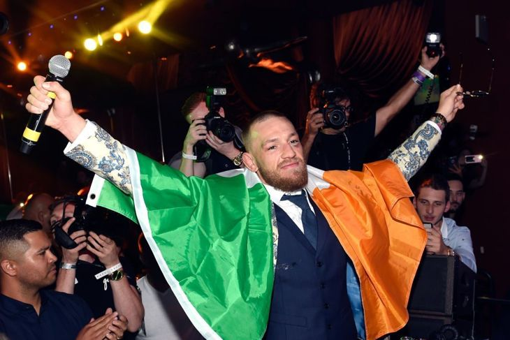 Conor McGregor world's highest paid athletes