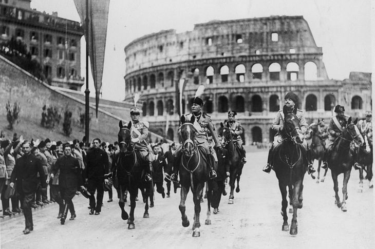 The March Of Il Duce