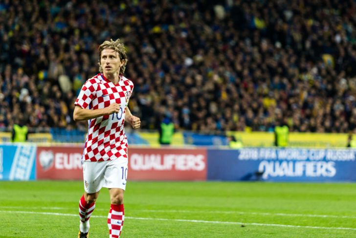Luka Modric best soccer player