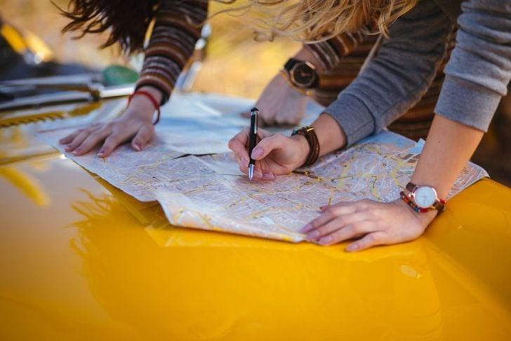 travel map drive