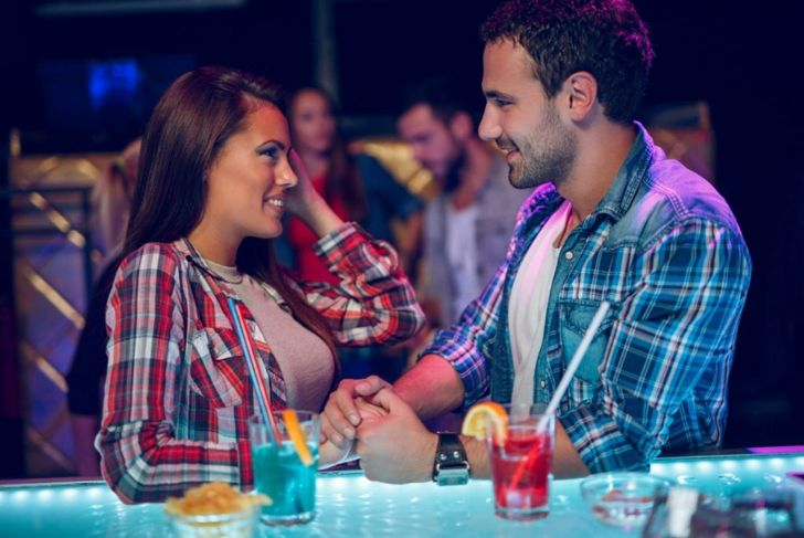 Body language attraction