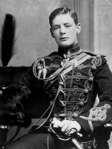life in the military Winston Churchill