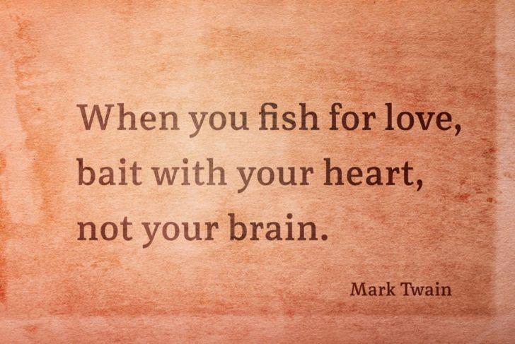 mark twain on love