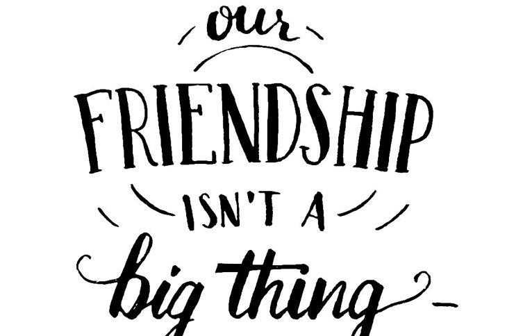 little things friendship