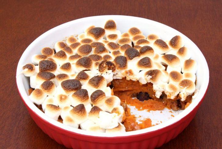 candied yams baked sweet potato