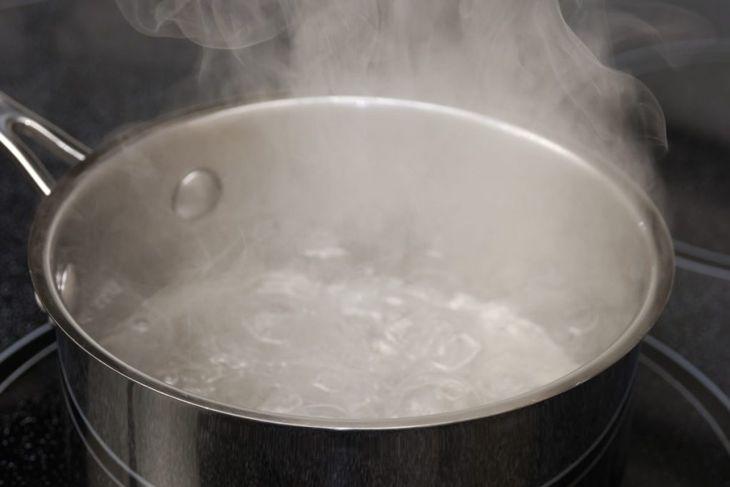 boiling water, bleach, steam, resin