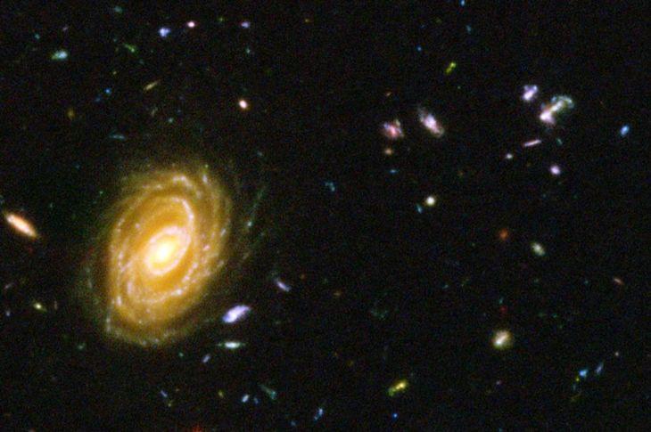 galaxy formation Big Bang