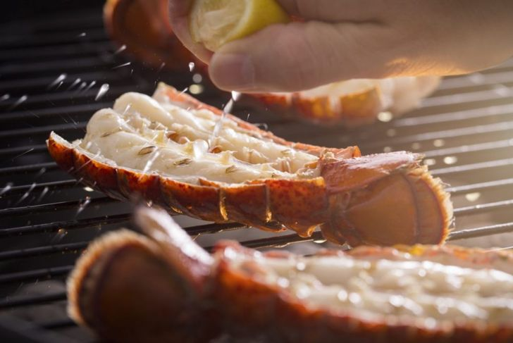 cooking lobster tail