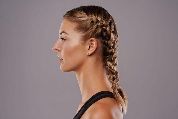 medium length hair boxer braids