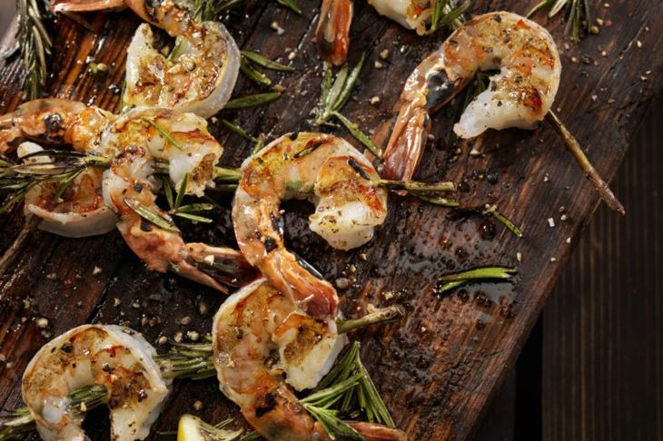 cooking fresh shrimp