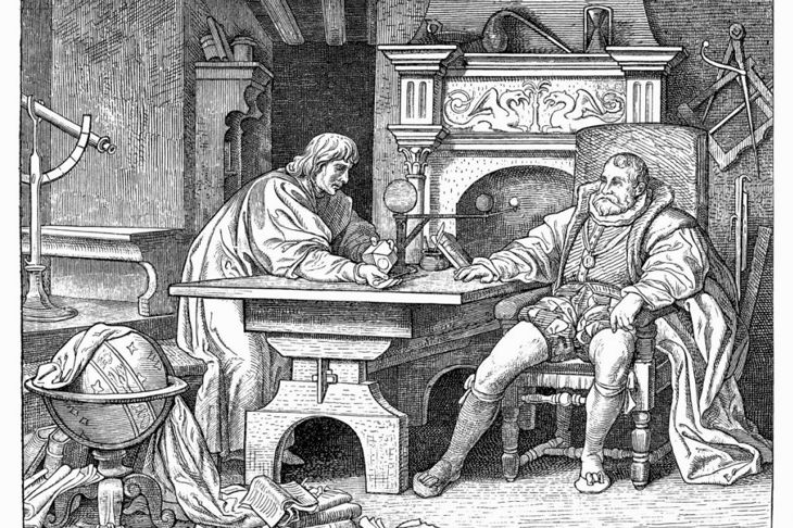 death of Johannes Kepler