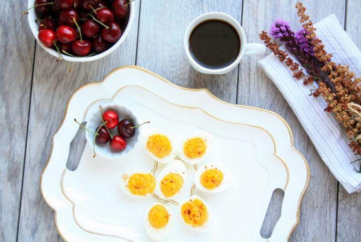 sweet Deviled eggs recipe