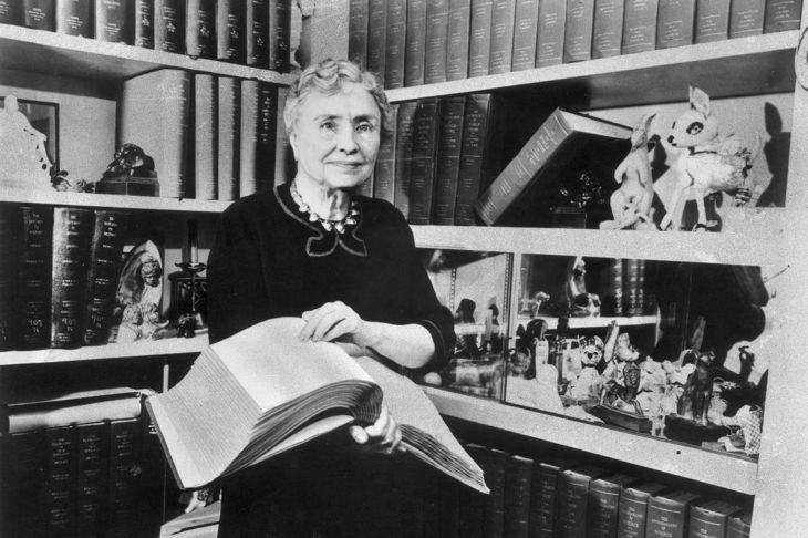 Helen Keller illness