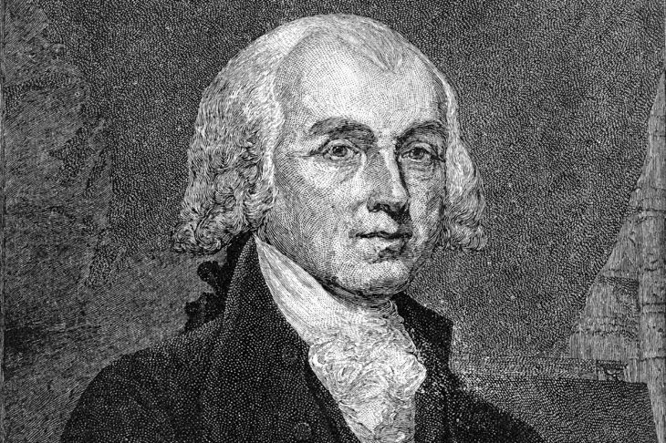 James Madison founding father
