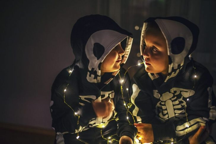night and day halloween costume