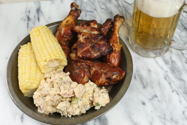 creole smoked chicken
