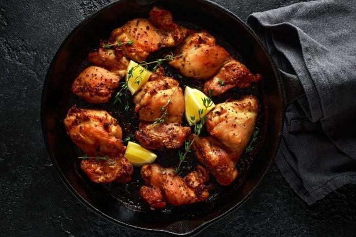 chicken thighs lemon thyme