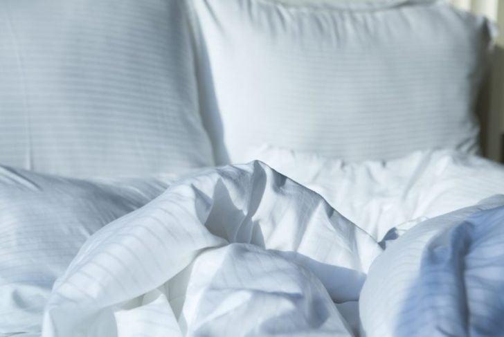 bed sleep sneeze suppressed