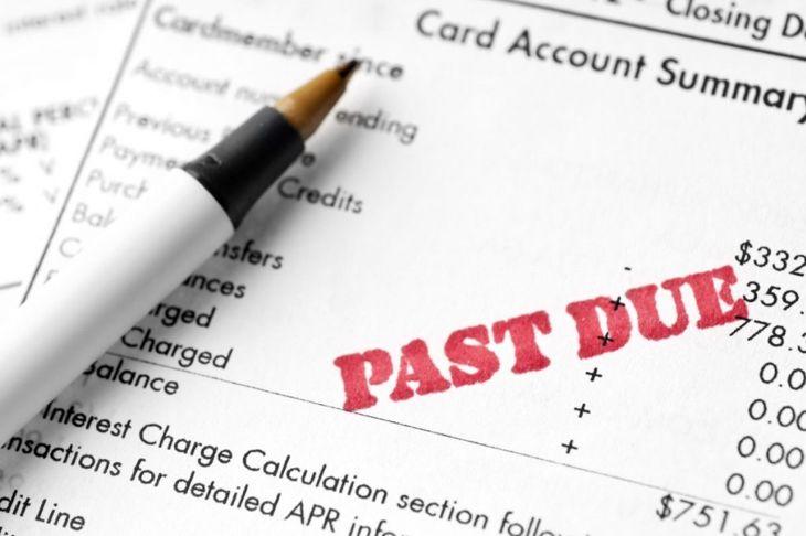 late payment balance good credit