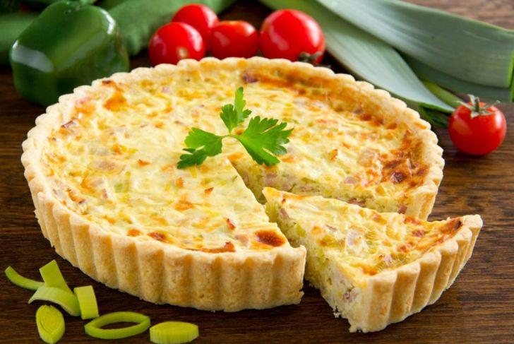 quiche lorraine bacon swiss cheese