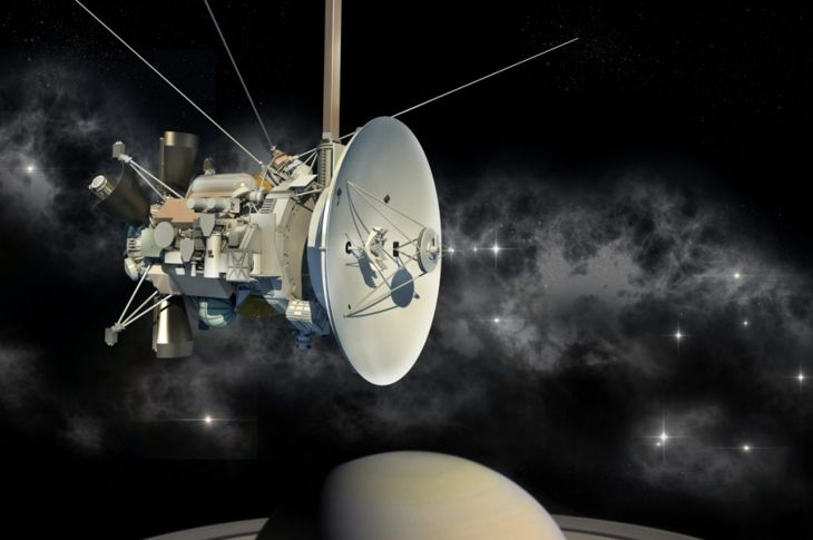 Cassini-Huygens sent valuable information about Saturn.