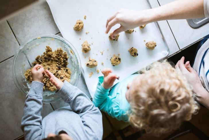 chocolate chip cookies dough