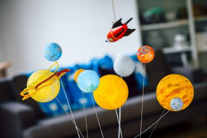 solar system planetarium toy