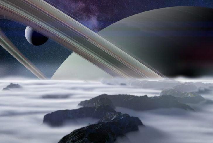 rings saturn's moons