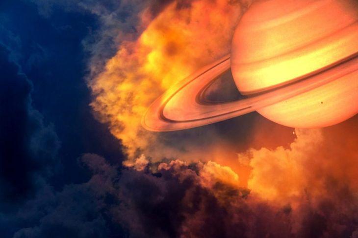saturn planet rings