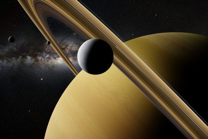 Titan is the largest moon of Saturn.