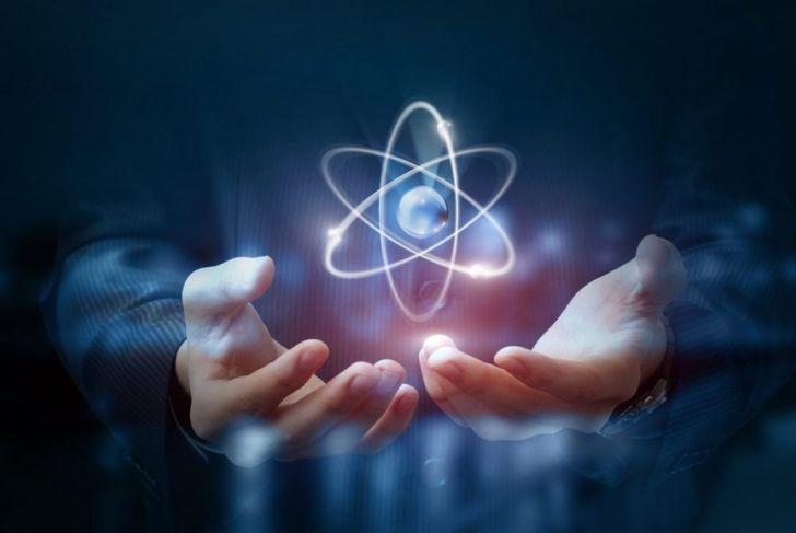 radioactive atom
