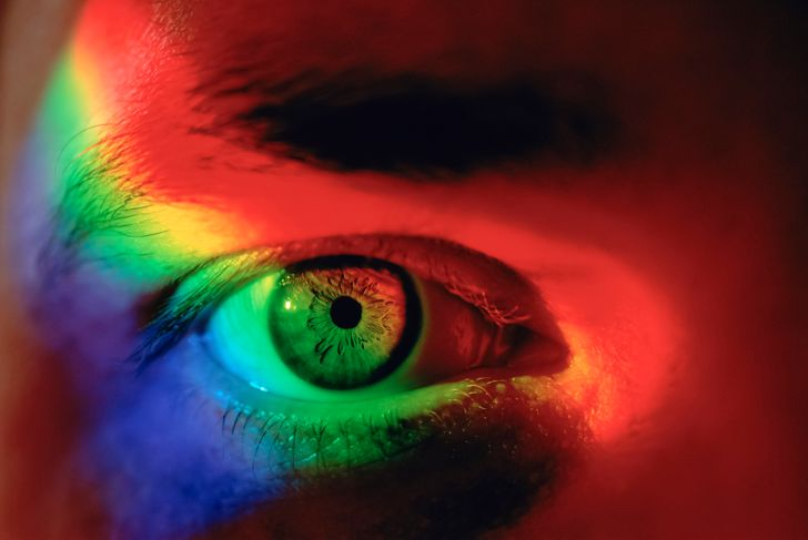 Spectrum and eye