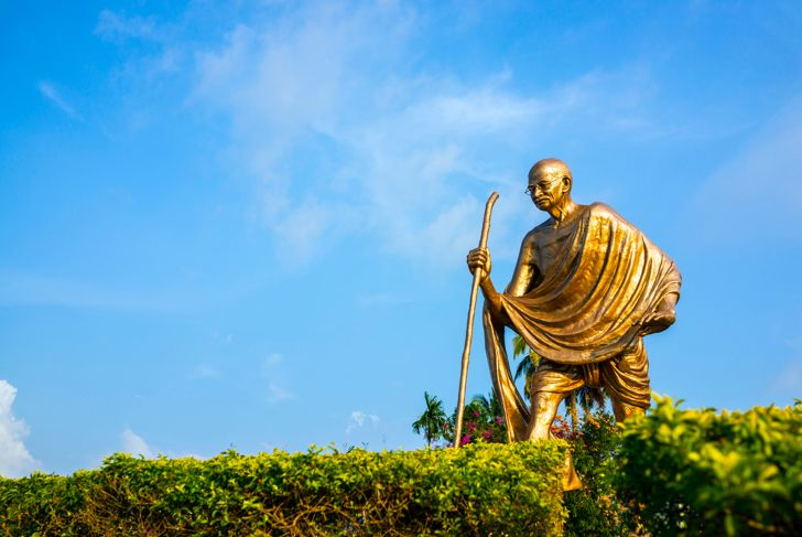 Mahatma Gandhi Statue, Port Blair, Andaman Islands