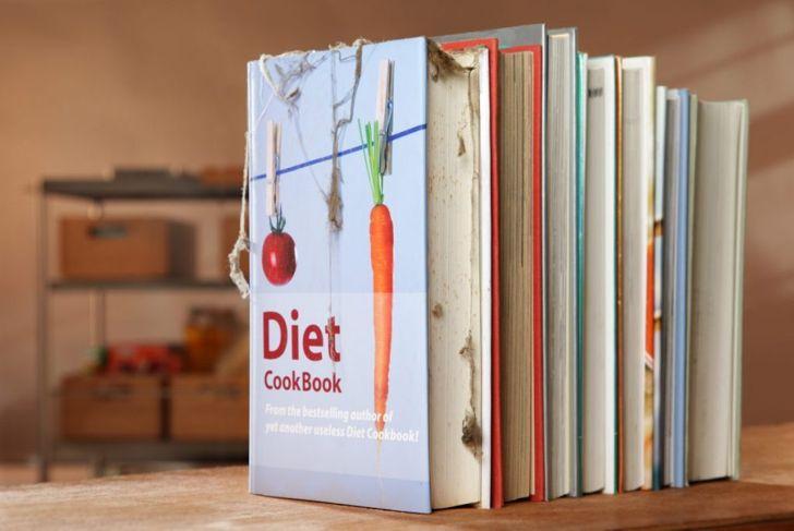 cookbooks recipe cards storage