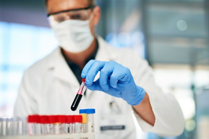 blood sample test tube
