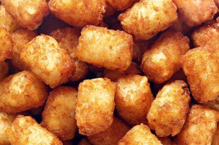 tater tots crispy potato