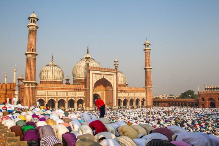 eid prayer new Delhi