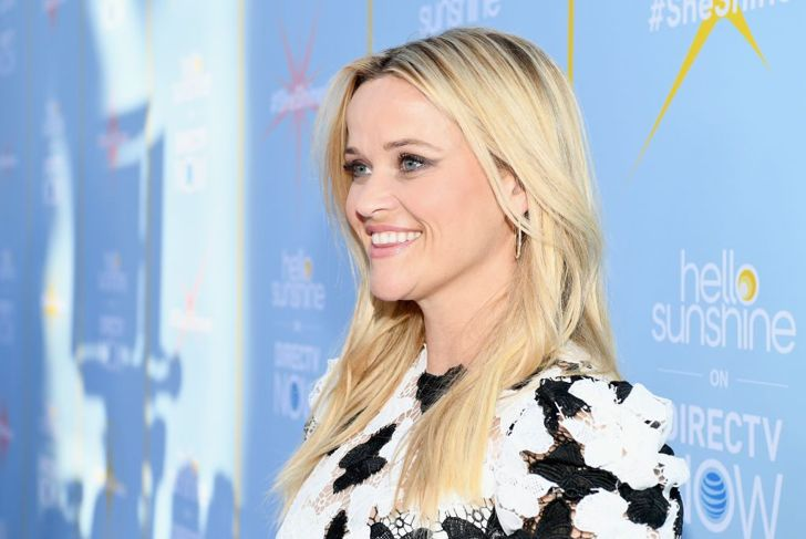 """Reese Witherspoon attends the AT&T and Hello Sunshine launch celebration of """"Shine On With Reese"""" and """"Master The Mess"""" at NeueHouse Hollywood on August 6, 2018 in Los Angeles,"""