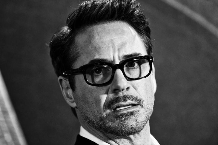 "Robert Downey Jr. attends a photocall for ""Captain America: Civil War"" at Corinthia Hotel London on April 25, 2016 in London, England."