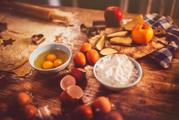 chilled ingredients for pie crust