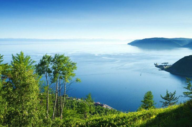Lake deepest Baikal deep water