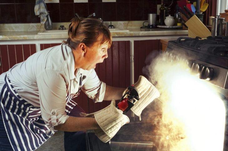 Preheating Oven for Banana Bread