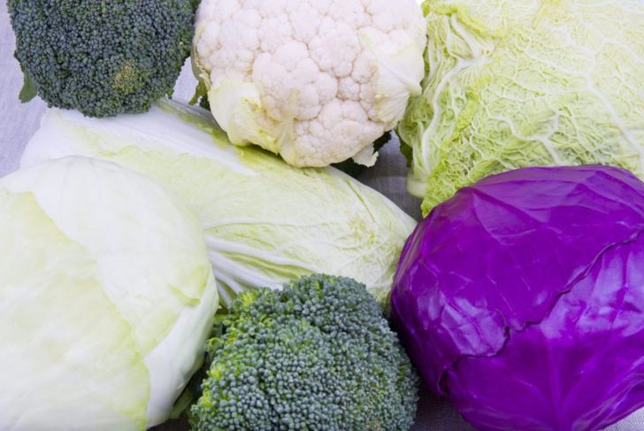 types cabbage red green