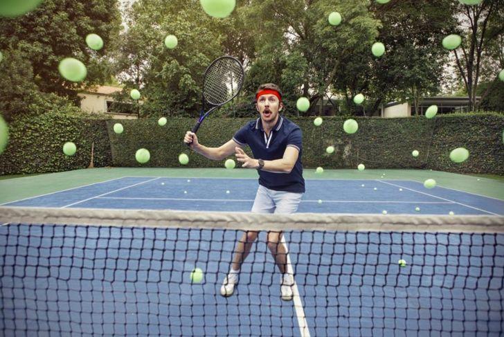 Losing at tennis