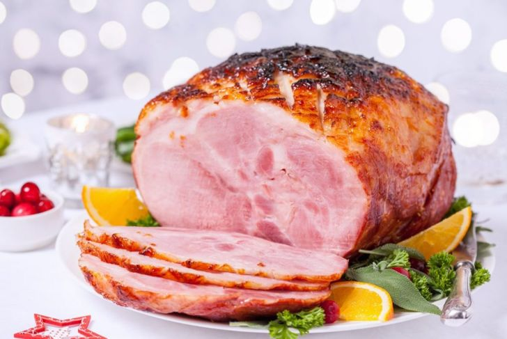 carmelize glaze ham